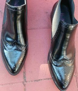 Vera Blumps Shoes - Women casual ankle boots patent leather 9/9.5